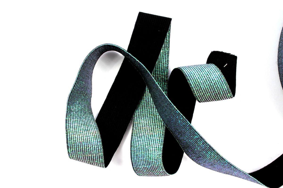 Pruženka metalická modro-zelená -30 mm vyrobeno v EU