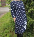 Papírový střih - DÁMSKÉ šaty balonové ANETA Mavatex