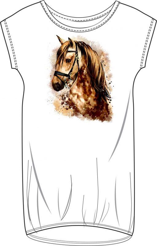 Panel triko/mikina/taška - kůň vyrobeno v EU