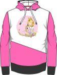 Panel triko/mikina/taška - holčička s jednorožcem- text na přání