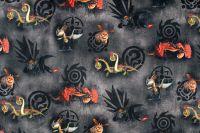 Teplákovina jak vycvičit draky na tmavé- digitální tisk