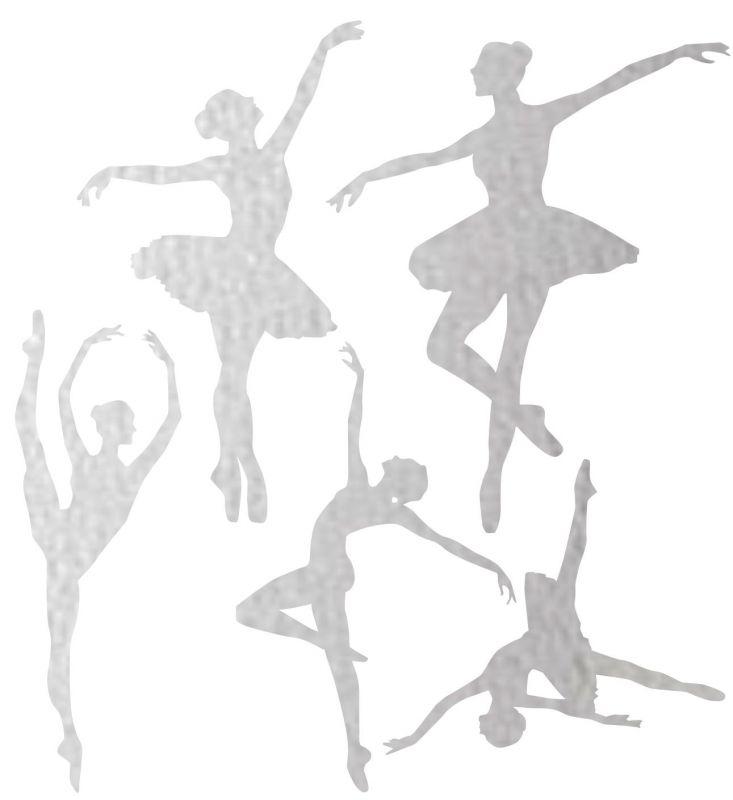 Nažehlovačka reflexka - baletky vyrobeno v EU