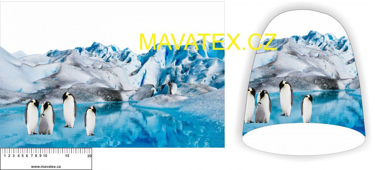 Panel na čepice -tučňákové vyrobeno v EU