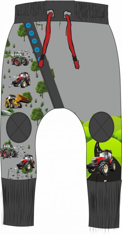 Panel na tepláčky - traktory vyrobeno v EU