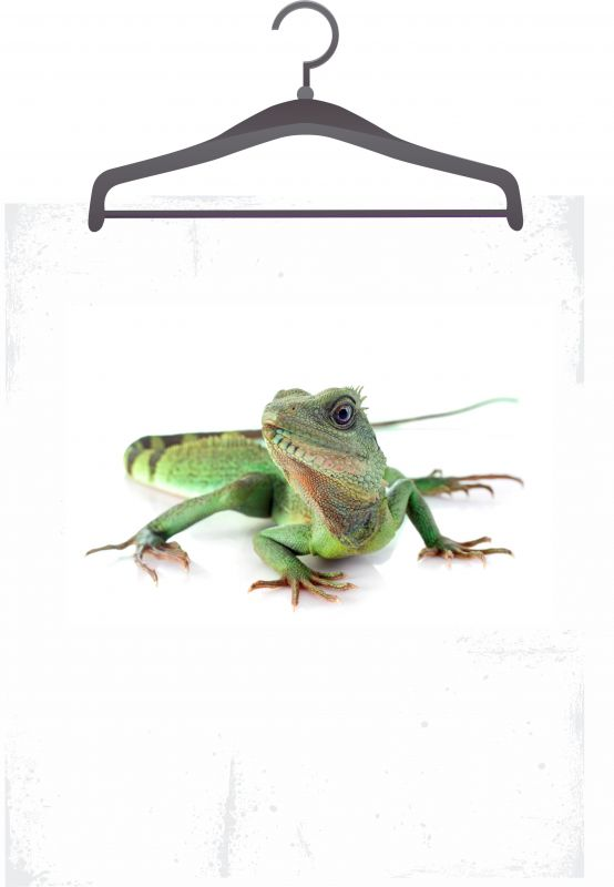 Panel triko/mikina/taška -ještěrka vyrobeno v EU
