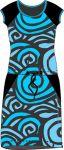 Papírový střih - Dámské šaty přestřižené -dvoudílné RAGLAN-IVANA Mavatex