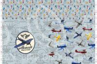 Panel na triko velký- letec vyrobeno v EU