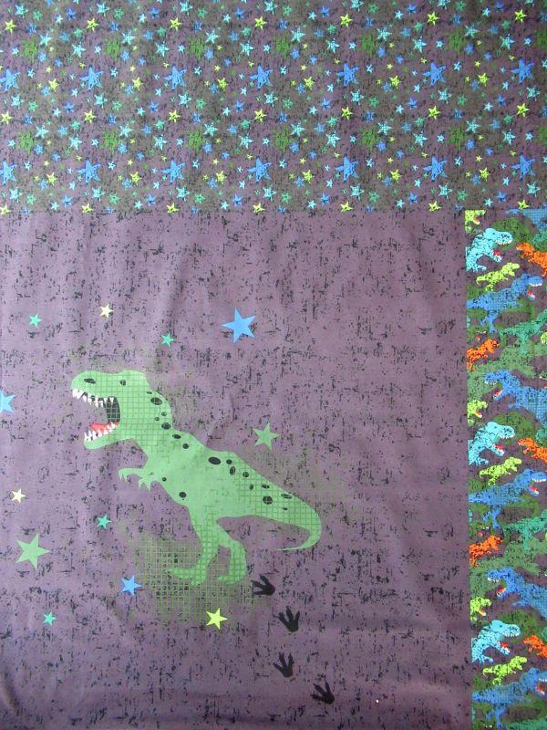 Panel na triko velký- dinosaurus vyrobeno v EU