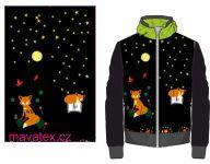 Přední Softshell panel- přechodový ( zimní+letní) - lišky 2