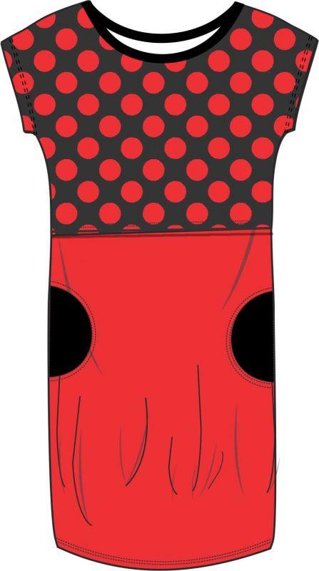Elektronický střih - DÁMSKÉ KOJÍCÍ šaty/triko basic s rovným překrytím Mavatex