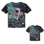 Panel na  triko astronaut