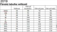 Papírový střih -Pánské /chlapecké PARKOUR tepláky základní 46-54 Mavatex