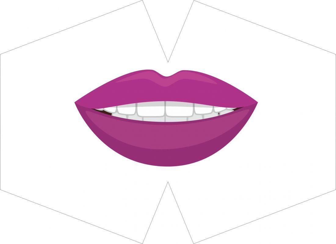 ROUŠKA PANEL-fialová pusa vyrobeno v EU