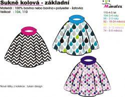 Návody šití sukně Mavatex