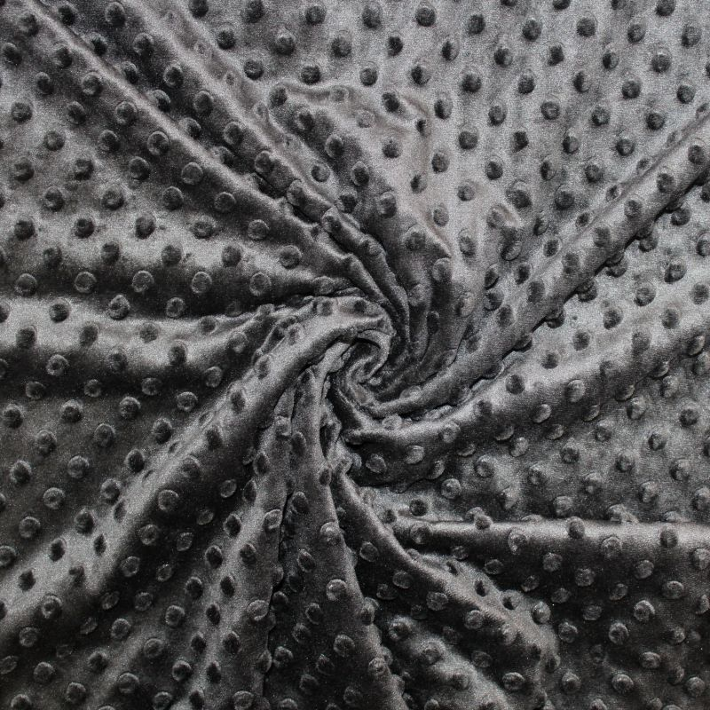 Minky černé - 320 gsm - muchláček vyrobeno v EU