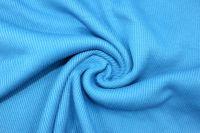 Rib 2x2 tyrkysová - barva 957 EU-úplety atest pro děti