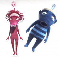 Ponožkožrout - ŽILETKA-bavlna vyrobeno v EU- atest pro děti bavlna