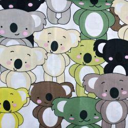 Bavlna koaly barevné