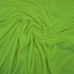 Jednolícní úplet fluo žlutá