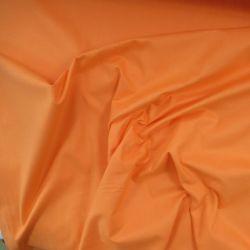 Oranžová bavlna oboustranně barvená vyrobeno v EU- atest pro děti bavlna