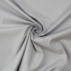 Světle šedá střední bavlna oboustranně barvená