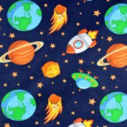 Tmavá bavlna  planety a vesmírné lodě