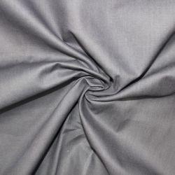 Tmavě šedá bavlna oboustranně barvená