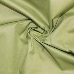Zelená oliva oboustranně barvená bavlna