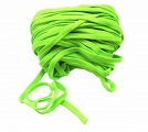 Plochá tkanice  svítivě zelená  1,2cm