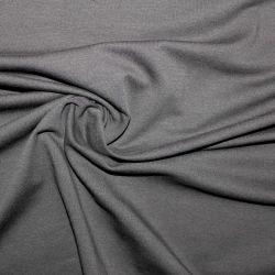 Tmavě šedý jednolícní úplet - 36 -200 gsm