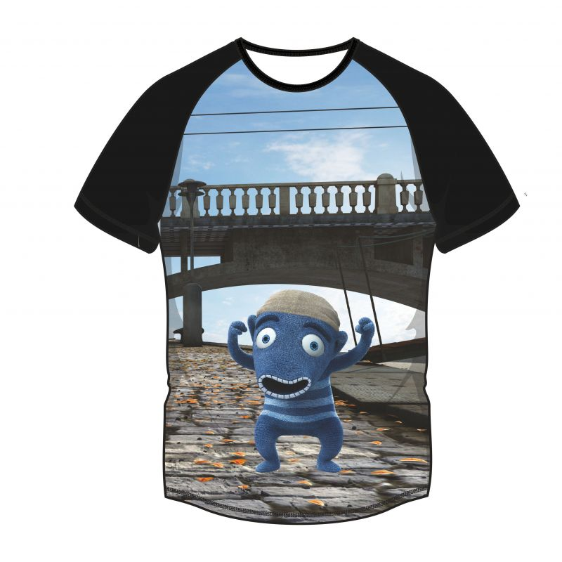 Panel triko -HIHLÍK pod mostem vyrobeno v EU
