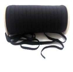 Lemovací gumička na kalhotky černá vyrobeno v EU