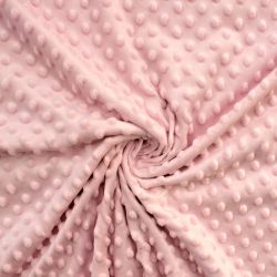 Minky světle růžové - barvy 12 vyrobeno v EU
