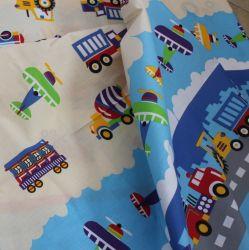 Bavlna- vlaky, stroje, letadla vyrobeno v EU- atest pro děti bavlna