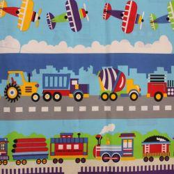Bavlna- vlaky, stroje, letadla