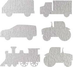 Nažehlovačka reflexka - traktor, náklaďáky a vlak