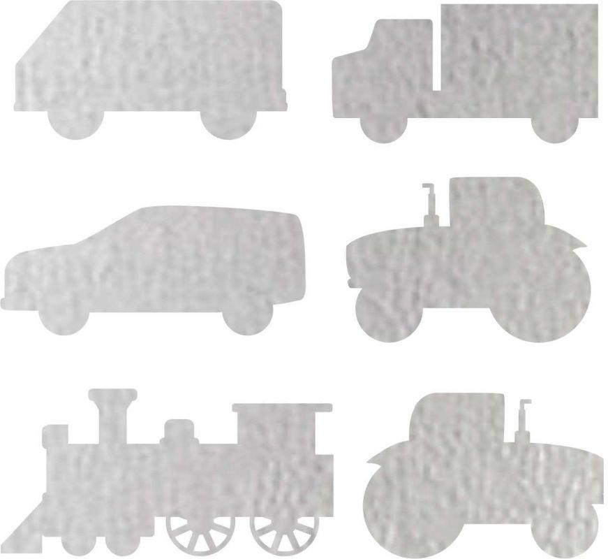 Nažehlovačka reflexka - traktor, náklaďáky a vlak vyrobeno v EU