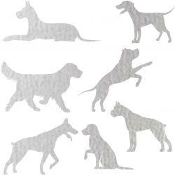 Nažehlovačka reflexka - psi