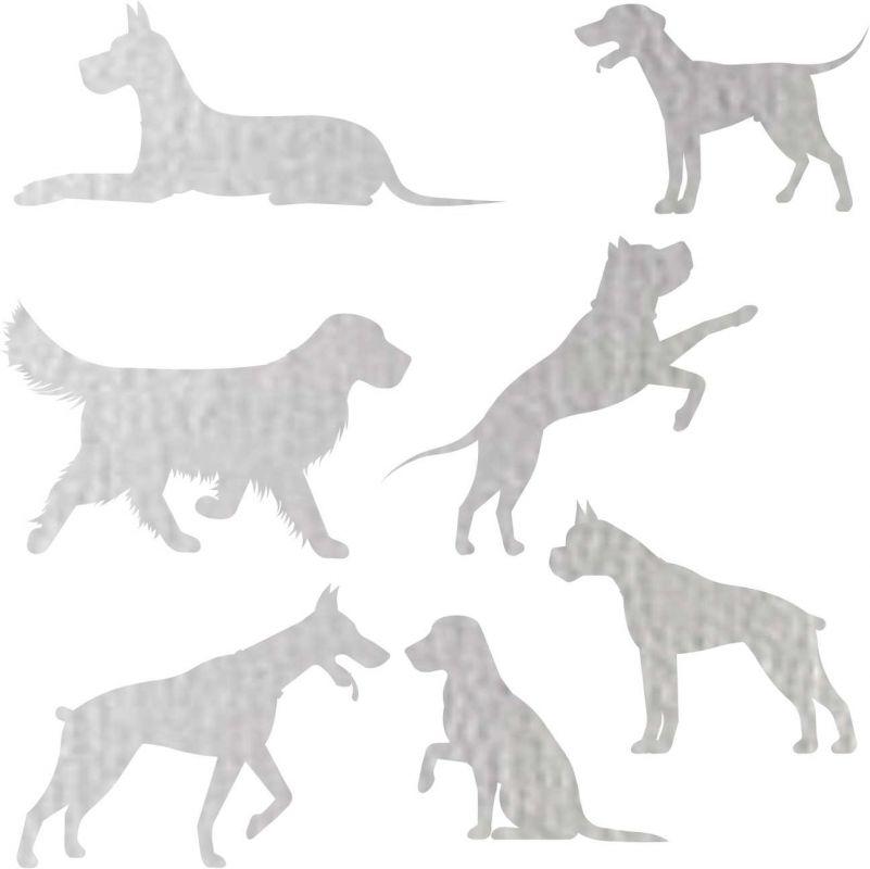 Nažehlovačka reflexka - psi vyrobeno v EU