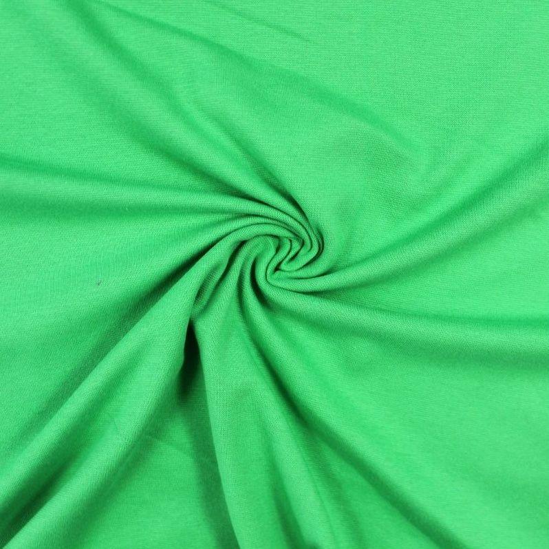 Rib 1x1 zelená jarní tráva – barva 57 EU-úplety atest pro děti
