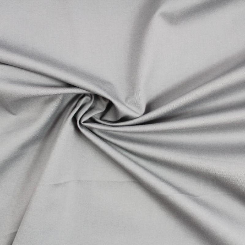 Střední šedáoboustraně barvená bavlna vyrobeno v EU- atest pro děti bavlna