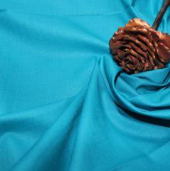 Tyrkysová bavlna oboustranně barvená