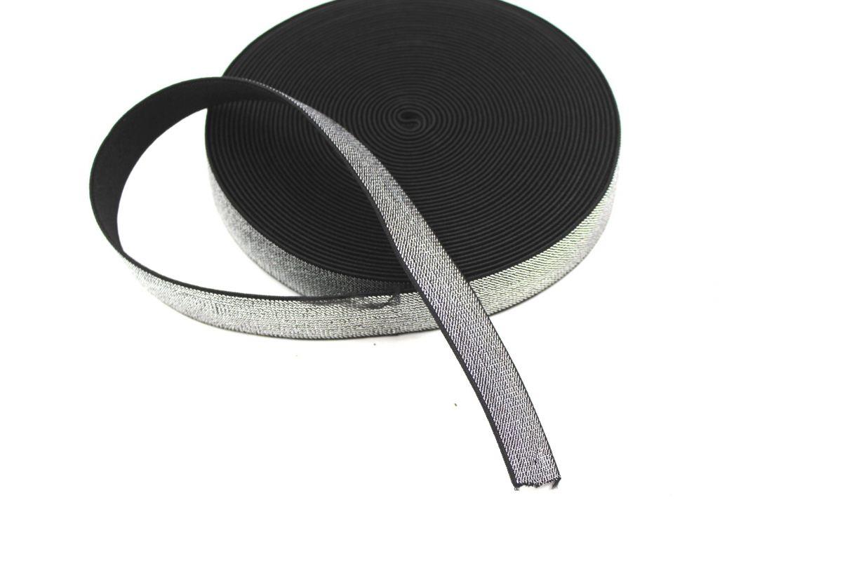 Pruženka metalická černá 20 mm vyrobeno v EU