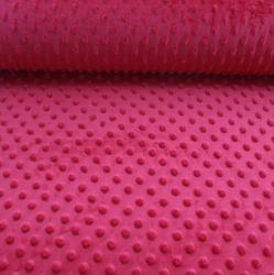 Minky červená- 250 gsm - barva 015 EU-úplety atest pro děti
