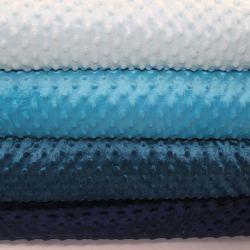 Minky tmavě modrá - 250 gsm - barva 008 EU-úplety atest pro děti