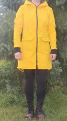 Papírový střih - Dámský Soft kabátek princes Mavatex