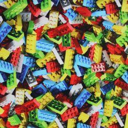 Teplákovina lego - digitální tisk