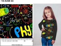 Fyzika- sublimační digitální tisk mavaga design