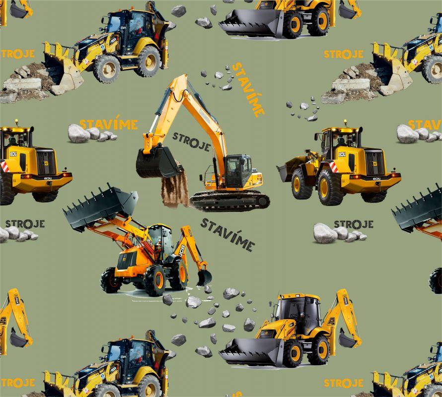 Žluté nakladače na army-sublimační digitální tisk mavaga design