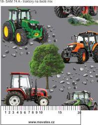 Traktory+ varianty-sublimační digitální tisk mavaga design